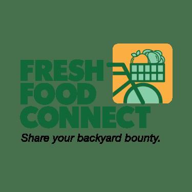 Fresh Food Connect Share your backyard bounty logo.